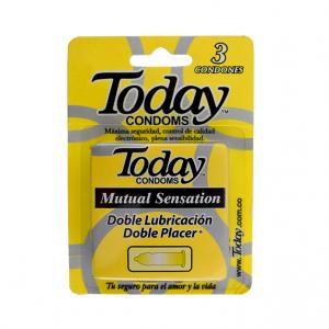 Preservativo Today Mutual Sensation