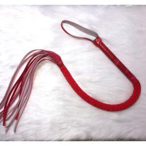 Látigo Rojo para BDSM